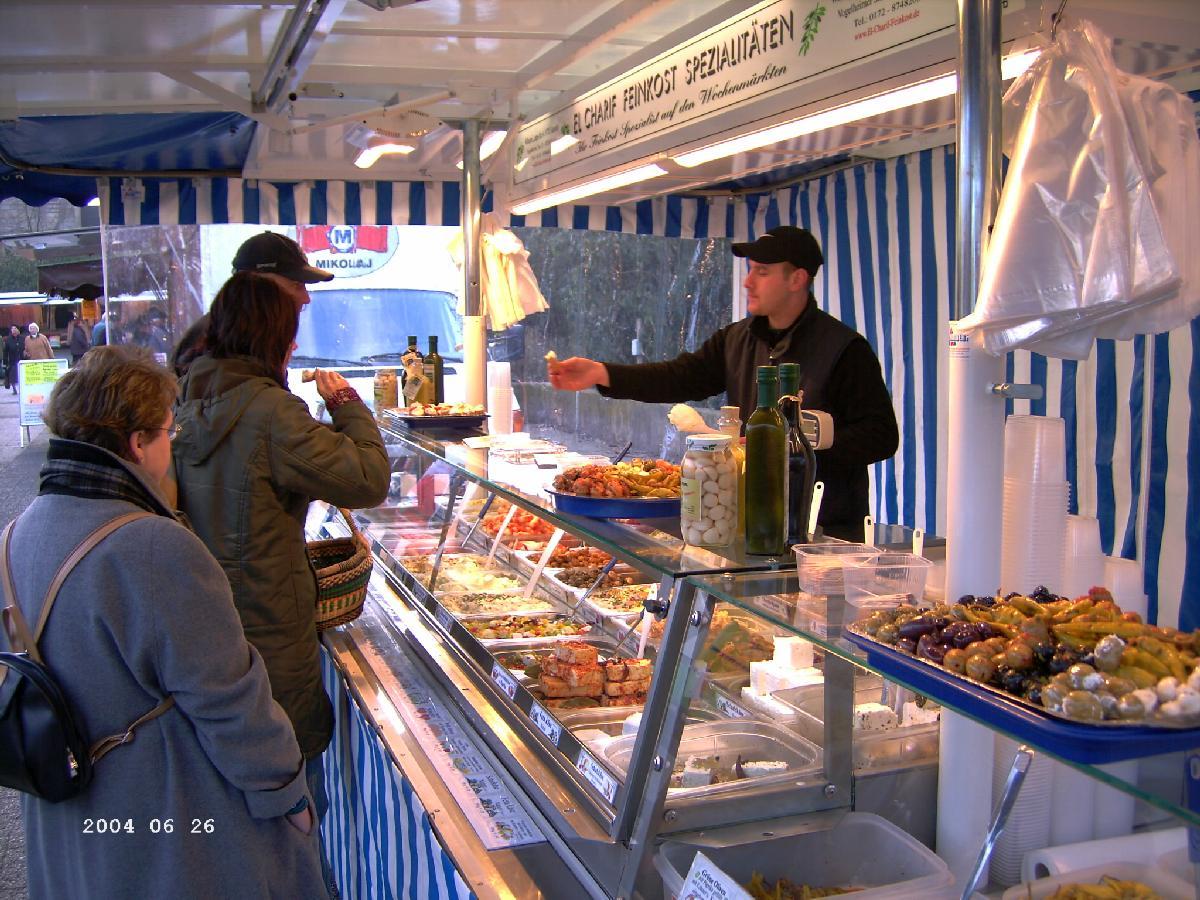 Unser Stand auf dem Hamelner Wochenmarkt